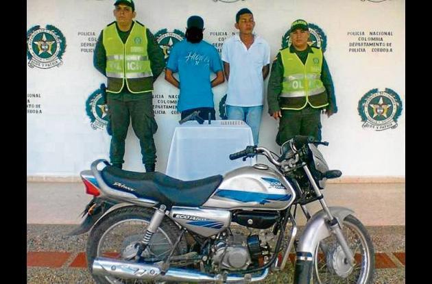 Los capturados fueron dejados bajo disposición de la Fiscalía Seccional
