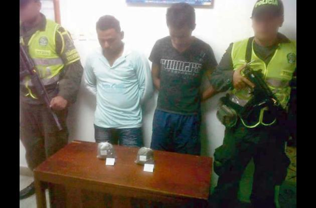 Luis Plaza y Luis González, capturados