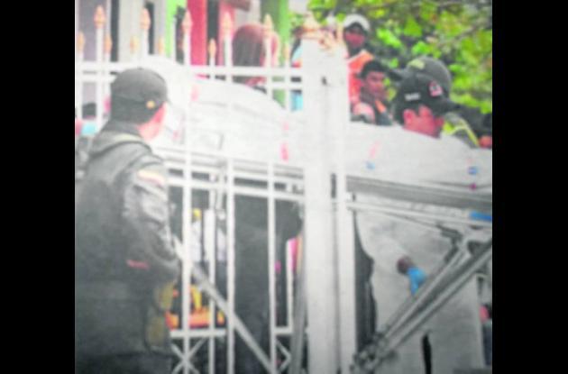 El CTI realizó el levantamiento de Benigno Martínez en el barrio Rancho Grande