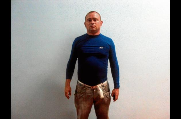 Juan Fernando Monsalve Lagarda, capturado.