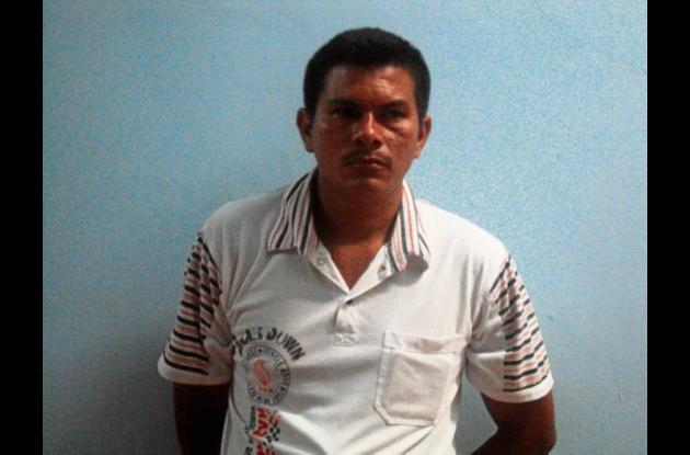 Óscar Luis  Romero Cogollo, capturado.