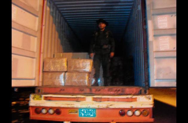 La marihuana era transportada en una tractomula en carreteras de Córdoba