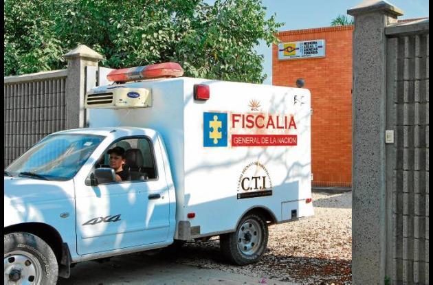 El cuerpo sin vida de Javier Martínez fue trasladado a la morgue