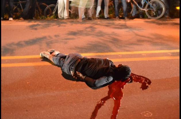 En el accidente murió Jhon Romero Banda, al parecer intentó adelantar un vehícu