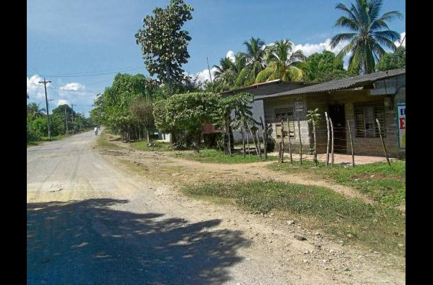 En el municipio de Cotorra se registró el asesinato de Jaime Hoyos.
