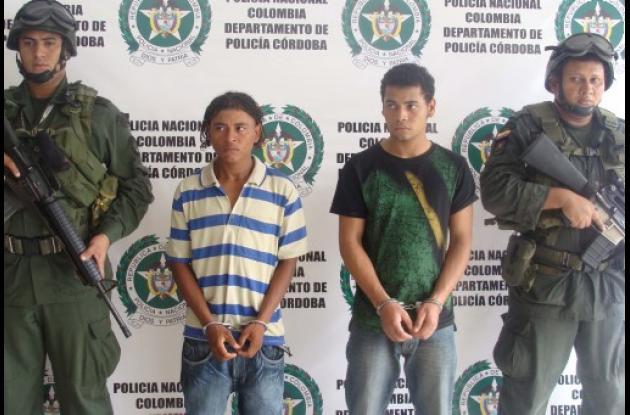 Capturados por asesinato