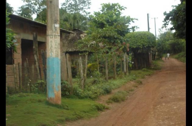 Las calles de Campo Bello lucen desoladas.