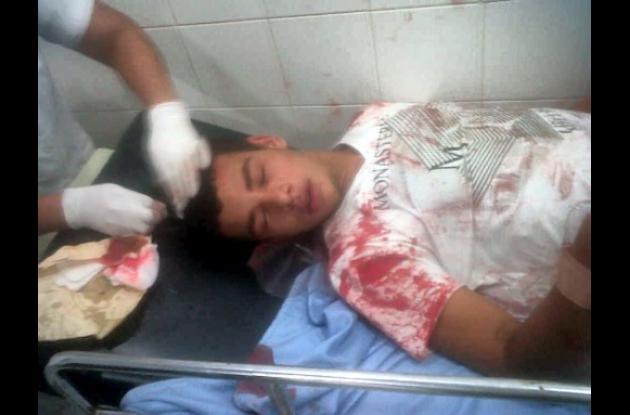 Policía hirió a un joven en hospital de Tierralta
