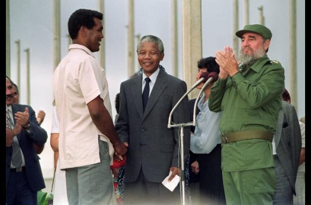 Muerte de Nelsón Mandela