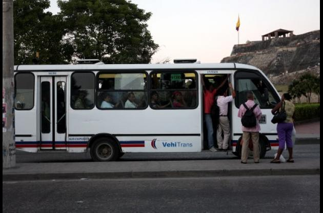 bus, usuarios, transporte público