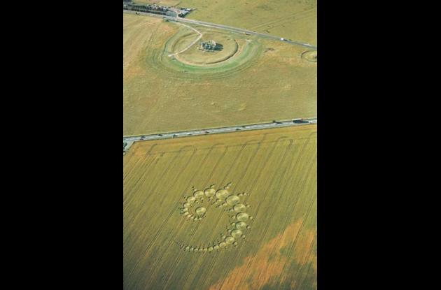 Círculos en las cosechas o Crop Circles