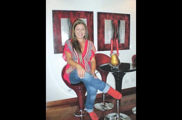 la escultora colombiana Liliana Méndez
