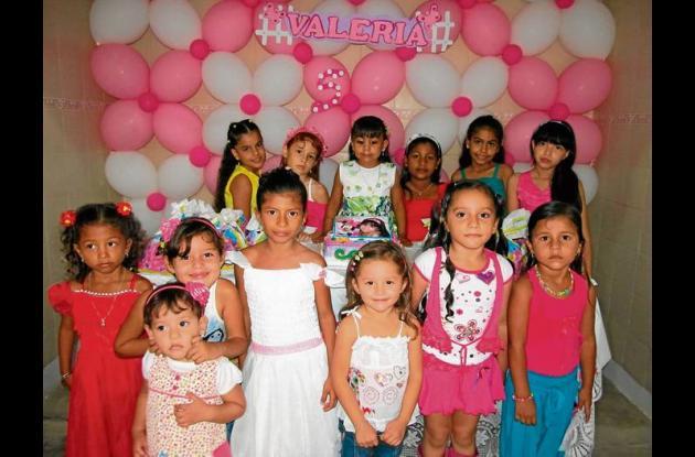 Valeria López Rodríguez celebró su cumpleaños en Sahagún.