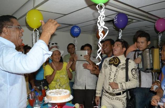 Cumpleaños Campo Elías Terán Dix.