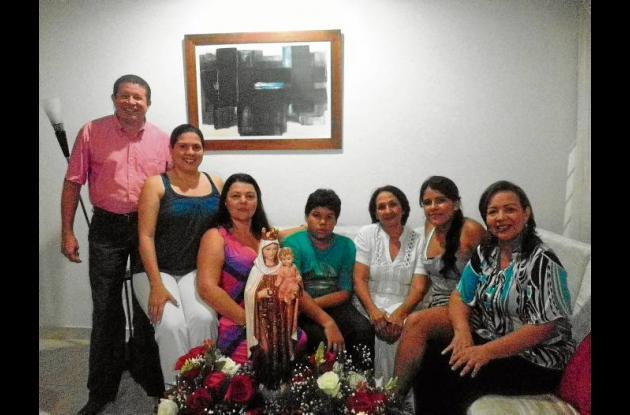 Dolly Quiroz de Tavera celebró su cumpleaños
