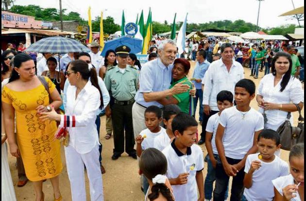 actividades de celebración del centenario de San Marcos, Sucre.