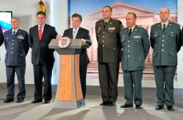 Nueva cúpula militar.