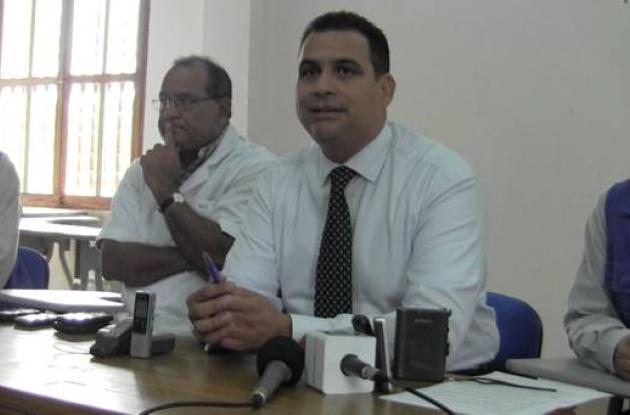 Dadis estuvo frente al caso desde que se confirmó el brote.