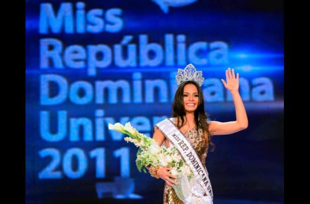 Dalia Fernández, señorita República Dominicana.