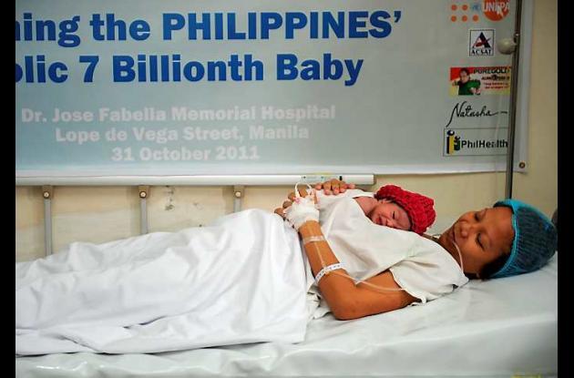 En las Filipinas nació Danica May Camacho, uno de los bebés considerados simbóli