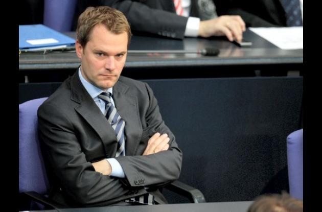Daniel Bahr, ministro de salud de Alemania.
