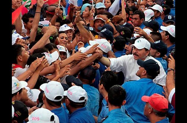 Daniel Ortega, presidente de Nicaragua, aspira a la reelección.