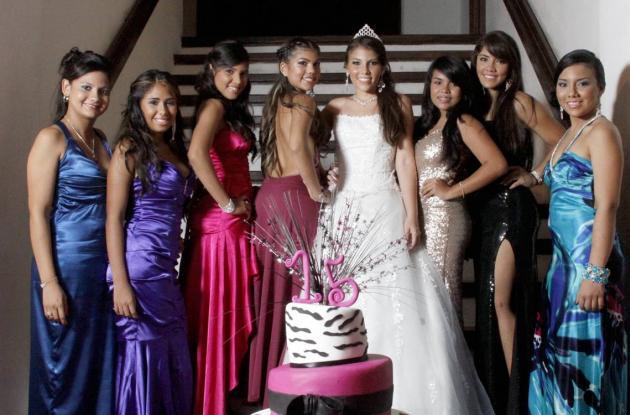 Quince años de Daniela Zabaleta