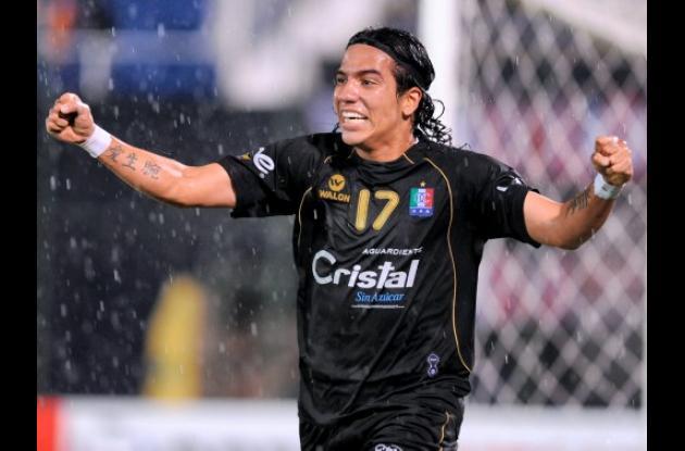 Dayro Moreno, delantero del Caldas, que enfrenta a Universidad de San Martín