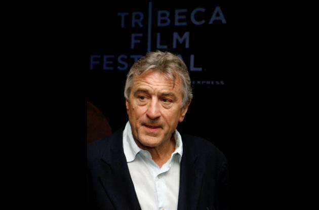 Robert De Niro, actor, director y fundador del Festival de Cine de Tribeca