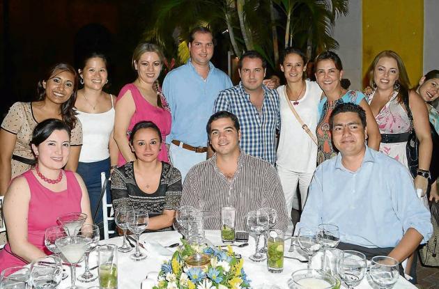 Cena para directivos de la aerolínea Copa Airlines