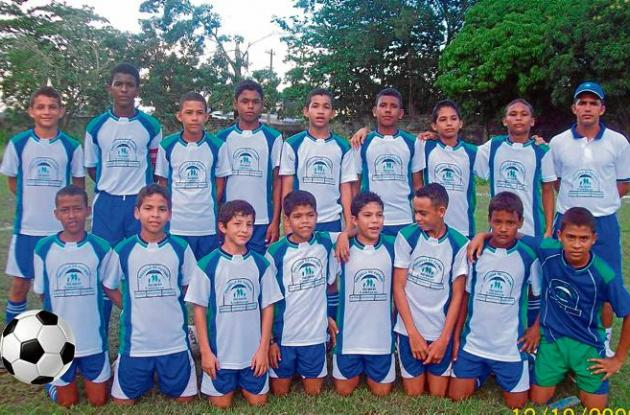 Delegación de fútbol Tacasuán Comfacor