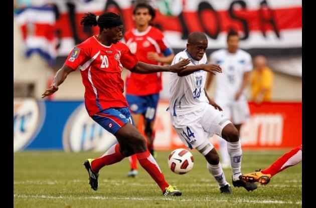 Dennis Marshall anotó el último gol de Costa Rica en la Copa de Oro.