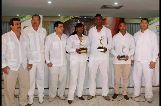 Premiacion a los deportistas del año.