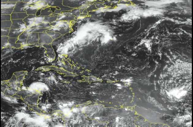 Depresión tropical se convierte en tormenta tropical Harvey.