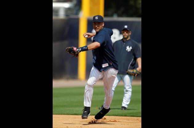 El campocorto de los Yanquis, Derek Jeter aspira llegar a 3.000 hits