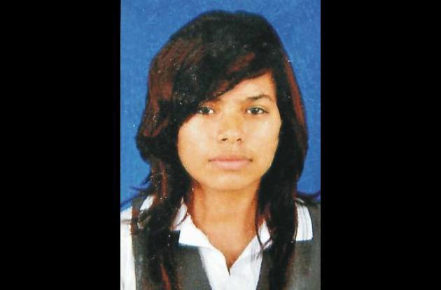 Tania Rodríguez Palacios, desaparecida.