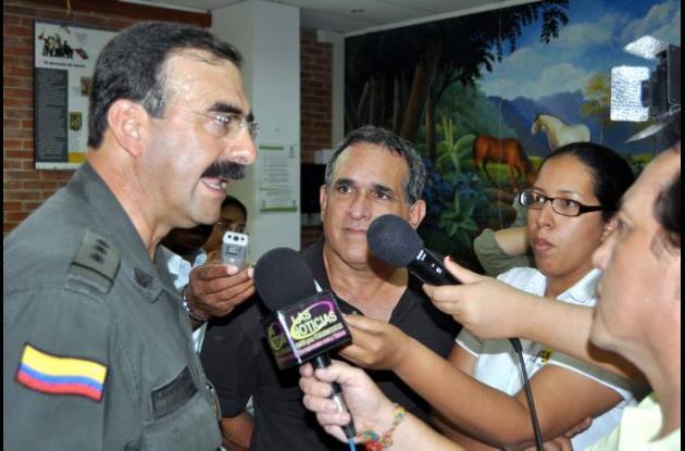 Mayor General Rodolfo Palomino López, Director Seguridad Ciudadana de la Policía