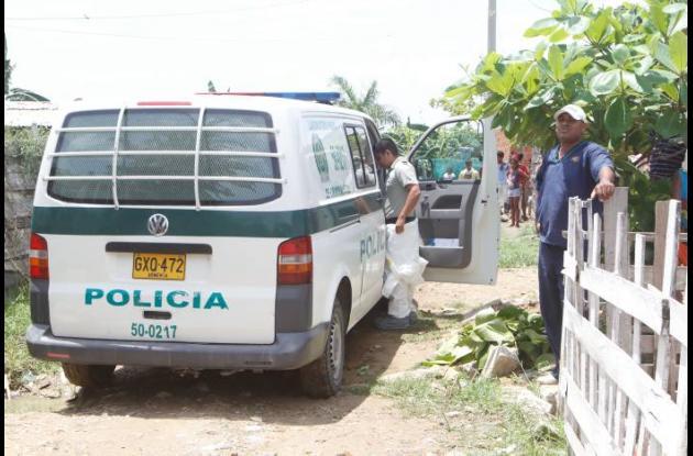 El cadáver de Amaury Barraza Marrugo fue encontrado por sus vecinos en avanzado
