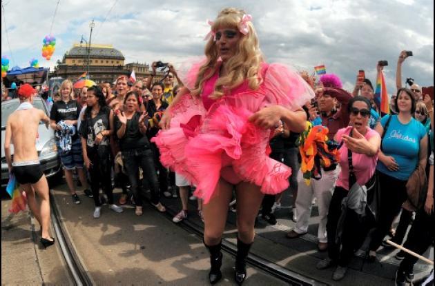 Desfile Gay en Praga