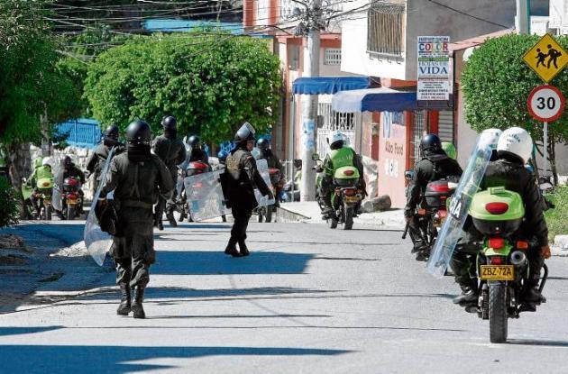 Desmanes por muerte de indígena en Sincelejo.