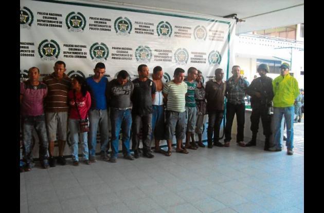 Seis de los 15 Urabeños eran desmovilizados de las Auc.