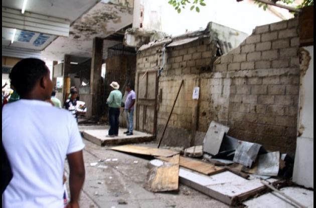 Recuperación de espacio público en Centro Histórico de Cartagena.