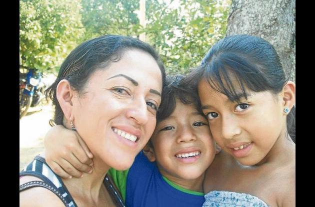 Ketty Villamil, ecuatoriana desplazada por la violencia
