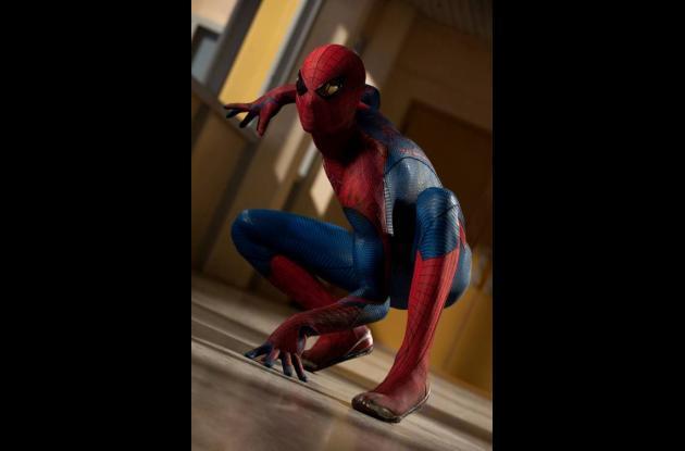 'El sorprendente hombre araña'.