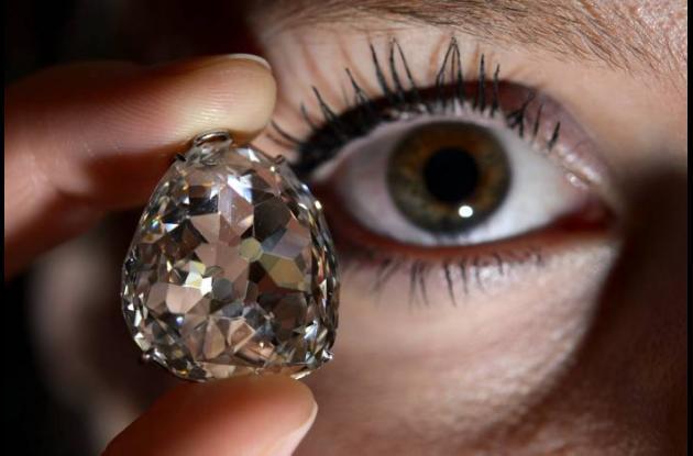 El diamante Beau Sancy, que perteneció a la reina Maria de Medicis.