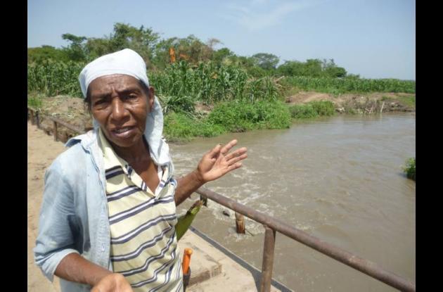Digna Bolaños Montiel, de 66 años, es una campesina que vive y cultiva Yuca, maí
