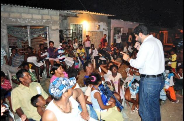 Dionisio Vélez Trujillo promete salubridad para la Zona Suroriental.