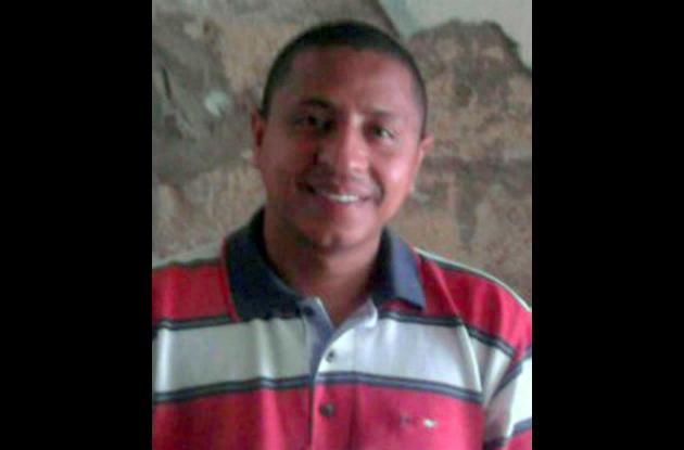 Dionisio Rafael Morales Galeza, víctima de la explosión.