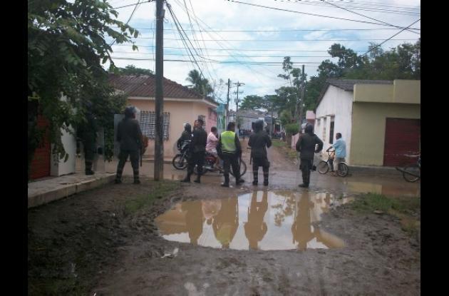 Cereté permanece militarizado por las protestas de hoy.