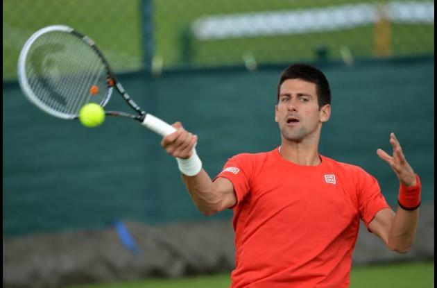 Novak Djokovic se impuso al español Ferrero 6-3, 6-3, 6-1.